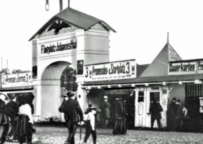 Eingang ehemaler Flugplatz Johannisthal