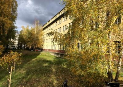 Airporthotel Berlin Adlershof historisches Bettenhaus